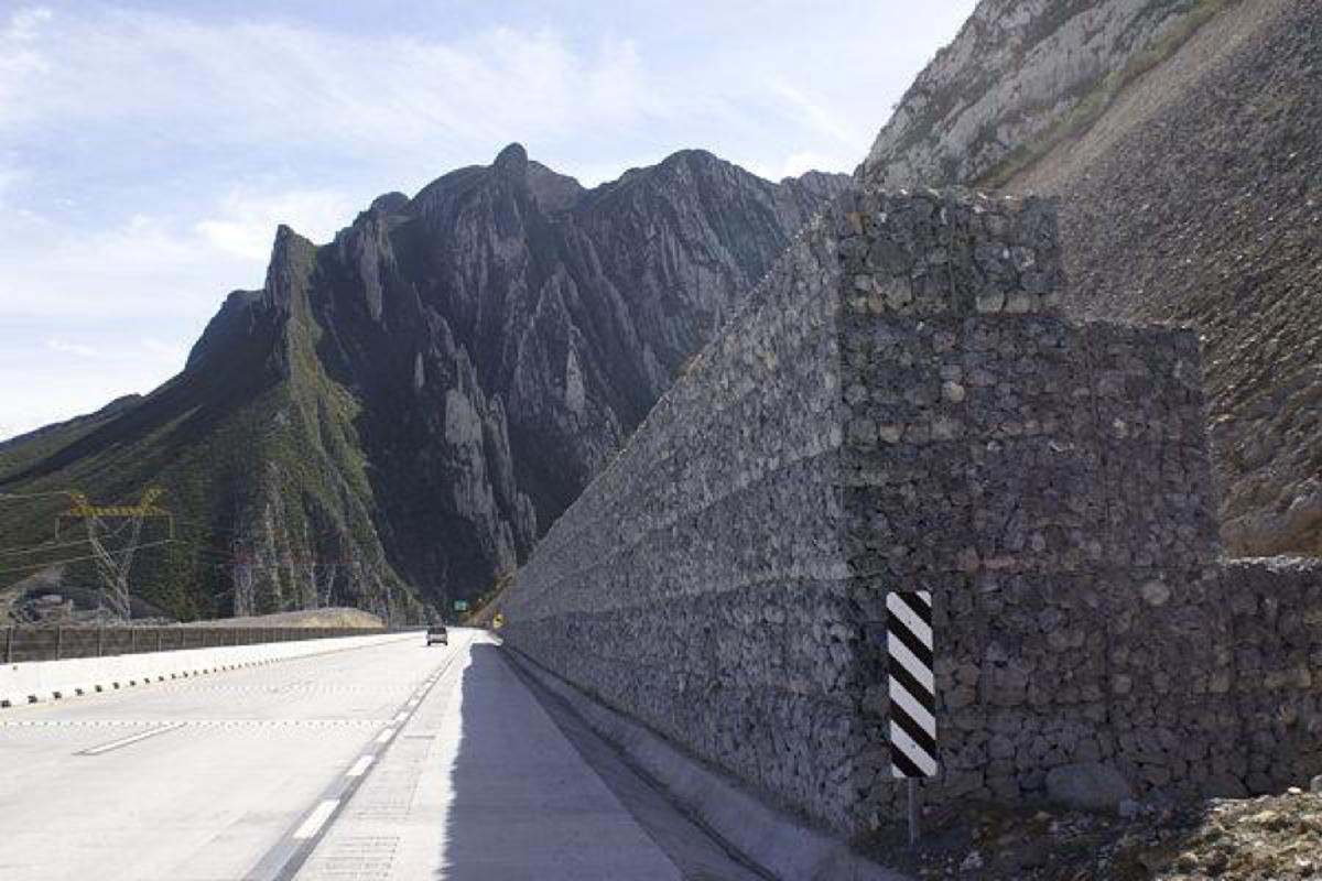 La versatilidad de los muros de gavión en la construcción