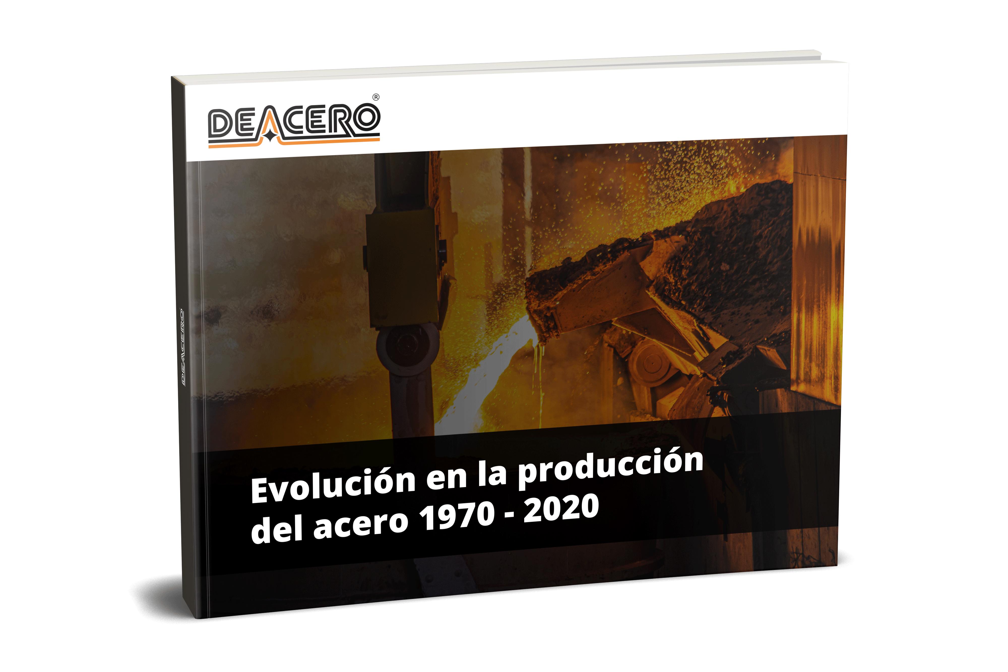 Evolución de la producción del acero 1970 - 2020
